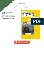 Orwell Ou l Horreur de La Simon Leys 65151144