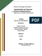 manual del participante