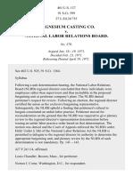 Magnesium Casting Co. v. NLRB, 401 U.S. 137 (1971)