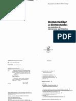 BOAVENTURA Democratizar a Democracia - Os Caminhos Da Democracia Participativa