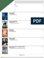 120gb Classic Movie List
