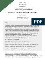 Johnson v. Railway Express Agency, Inc., 421 U.S. 454 (1975)