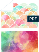 Tumblr Watercolor Background