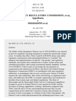 FERC v. Mississippi, 456 U.S. 742 (1982)