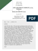 American Bank & Trust Co. v. Dallas County, 463 U.S. 855 (1983)