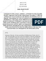 John McIlwain V, 464 U.S. 972 (1983)