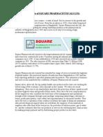 Profile of SQUARE PHARMACEUTICALS LTD by biplob_bsp UIU