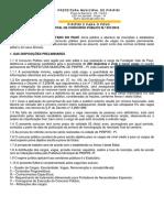 Edital de Concurso Público Da Pref. de Piripiri - Pi