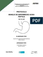 Protocolo Manejo de Enfermedad Acido Péptica
