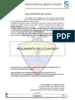 Reglamento Oficial de Ecuavoley 2015