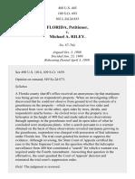 Florida v. Riley, 488 U.S. 445 (1989)