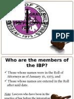 IBP Membership