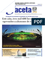 Gaceta UNAM 28/04/2016