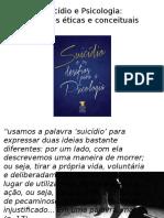 Suicídio e Psicologia