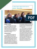 newsletter april2016