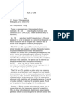 US Department of Justice Civil Rights Division - Letter - tal689