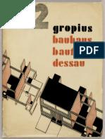 Bauhaus Gropius Book