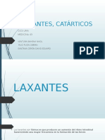 LAXANTES, CATÁRTICOS