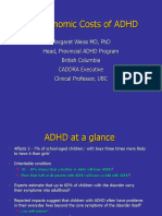 Weiss the Economic Costs of ADHD