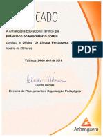 Certifica Anhanguera
