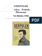 Tan Malaka - GERPOLEK