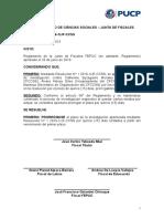Resolución N°2 2016-1/JF-CCSS