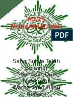 Teks Mars Muhammadiyah