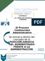 El Proceso Contencioso Administrativo 2016