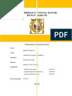 Informe Practica 5 Compuestos Oxigenados Del Azufre