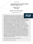 Planned Parenthood of Southeastern Pennsylvania v. Casey No. A-655, 510 U.S. 1309 (1994)