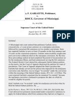 Garlotte v. Fordice, 515 U.S. 39 (1995)