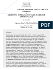 Locomotive Engineers v. Atchison, T. & SFR Co., 516 U.S. 152 (1996)