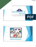 Sesion 1 - Administración de Personal