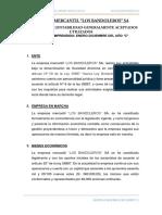 Pcga y Nic Aplicadas -Los Bandoleros Sa