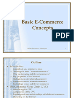 Basic E-Commerce Concepts