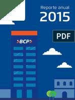 Memoria Anual BCP 2015