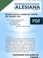 Barra de Torsion (Practica 2)
