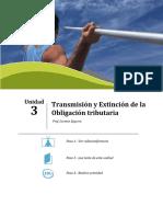 Transmicion Extincion de La Deuda Tributaria
