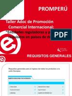2014-Entidades reguladoras y principales requisitos en países de destino.pdf