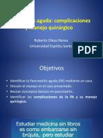 Pancreatitis Oleas