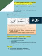 Desarrollo y revisión de cuadernos