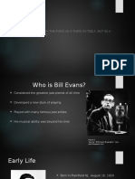 revised bill evans project