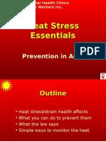 Heat Stress Train