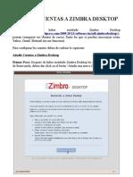 "Manual para ""Añadir Cuentas a Zimbra Desktop"""