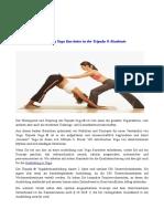 Ausbildung Yoga