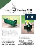 Jackson Wood Shaving Mill 16D4