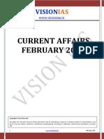 Current Affairs February - 2016