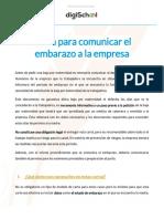 Ejemplo comunicación empresa