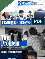 Presentation of Plan International on YES! Digital Ecosystem