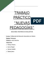 Las Nuevas Pedagogías